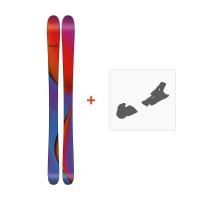 Ski Line Pandora 95 2018 + Fixation de ski19B0201.101