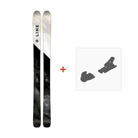 Ski Line Supernatural 100 2018 + Fixation de ski