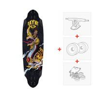 "Rayne Avenger Black Complete 38\\"" - Complete (Axes et roues à choisir) RADAV2S"