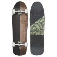 Skateboard Globe Pushover 9.0'' Dark Maple / Monstera 201610525294-DKMAPMONST