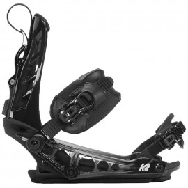 K2 Cinch Ts Black Snowboard Bindings 201811B1001