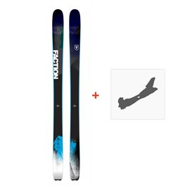Ski Faction Dictator 1.0 2018 + Fixation de ski
