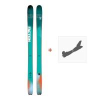 Ski Faction Dictator 2.0 2018 + Fixation de skiSKI-1718-DCT20