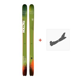 Ski Faction Dictator 3.0 2018 + Fixation de ski