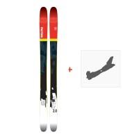 Ski Faction Prodigy 2.0 2018 + Fixation de ski