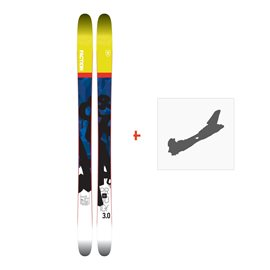 Ski Faction Prodigy 3.0 2018 + Fixation de skiSKI-1718-PRD30