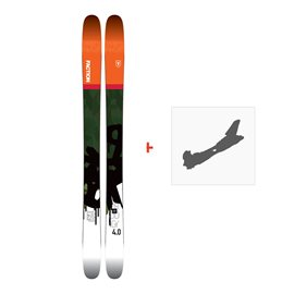 Ski Faction Prodigy 4.0 2018 + Fixation de ski