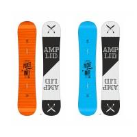 Snowboard Amplid The Pocketknife 2015 + Fixation