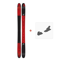 Ski Amplid Antidote 2018 + Fixation de ski