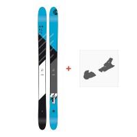 Ski Amplid Rockwell 2018 + Fixation de ski