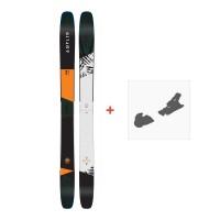 Ski Amplid The Hill Bill 2018 + Fixation de skiA.170206