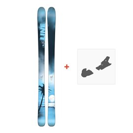 Ski Line Sick Day 88 2018 + FIxation de ski