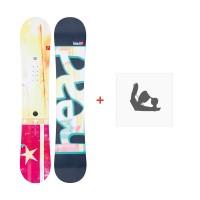 Snowboard Head Pride 2013 + Fixation