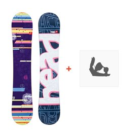 Snowboard Head She's Good Flocka 2013 + Fixation