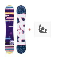 Snowboard Head She's Good Flocka 2013 + Fixation