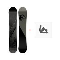 Snowboard Nitro Pantera Sc  2017 + Fixations