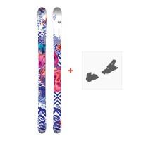 Ski Roxy Bella 2018 + Fixation de ski