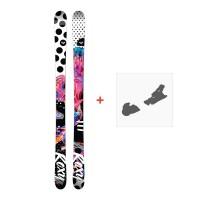 Ski Roxy Ily 2018 + Fixation de ski