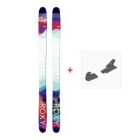 Ski Roxy Shima 90 2018 + Fixation de ski