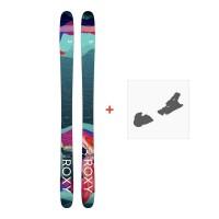 Ski Roxy Shima 96 2018 + Fixation de ski
