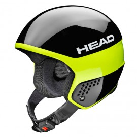 Casque de Ski Head Stivot Race Carbon Black Lime 2018