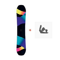 Snowboard Head Shine 2016 + Fixations