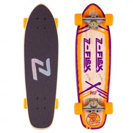 Z Flex Jimmy Plumer P.O.P Cruiser Orange/Purple / 27.75''ZFX0113