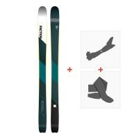 Ski Faction Prime 2.0 2019 + Fixations randonnée + PeauSKI-1718-PRM20