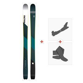 Ski Faction Prime 2.0 2019 + Alpine Touring Bindings + Climbing skin
