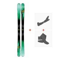 Ski K2 Missconduct 2017+ Fixations randonnée + Peau10A0503.101