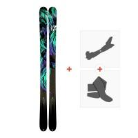 Ski K2 Empress 2018 + Fixations randonnée + Peau