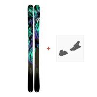 Ski K2 Empress 2018 + Fixation