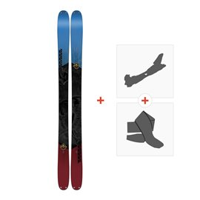 Ski K2 Poacher 96 2018 + Fixations randonnée + Peau10B0302.101.1