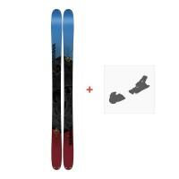 Ski K2 Poacher 96 2018+ Fixation de ski10B0302.101.1