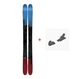 Ski K2 Poacher 96 2018+ Fixation de ski10B0302.101.1