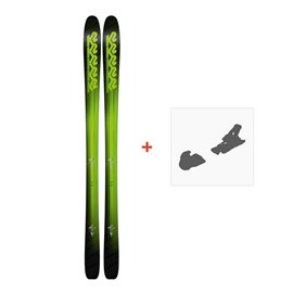 Ski K2 Pinnacle 95 2018 + Fixation de ski