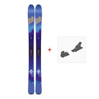 Ski K2 Talkback 88 Ecore 2018 + Fixation de ski10B0601.101.1