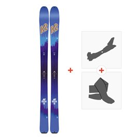 Ski K2 Talkback 88 Ecore 2018 + Fixations randonnée + Peau10B0601.101.1