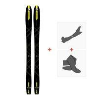 Ski Dynastar Mythic 87 2018 + Fixations randonnée + PeauDAGK901