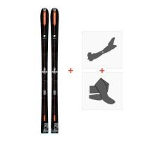 Ski Dynastar Vertical Bear FRA 2018 + Fixations randonnée + PeauDRG02L2