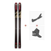 Ski Dynastar Vertical Eagle 2018 + Fixations randonnée + Peau