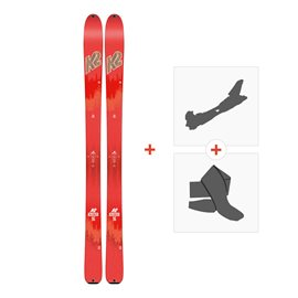 Ski K2 Talkback 96 2018 + Alpine Touring Bindings + Climbing skin10B0600.101.