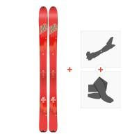 Ski K2 Talkback 96 2018 + Fixations randonnée + Peau10B0600.101.