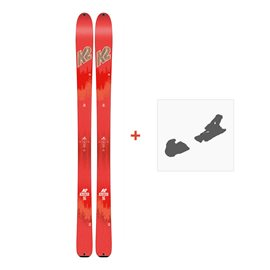 Ski K2 Talkback 96 2018 + Fixation ski10B0600.101.