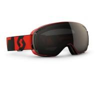 Scott Goggle LCG Compact Neon Red/Solar Black Chrome 2016