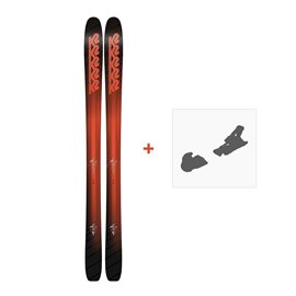Ski K2 Pinnacle 105 2018 + Fixation de ski