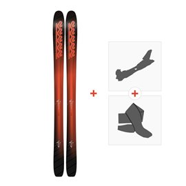 Ski K2 Pinnacle 105 2018 + Fixations randonnée + Peau10B0101.101