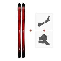 Ski K2 Pinnacle 85 2018 + Fixations randonnée + Peau
