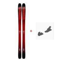 Ski K2 Pinnacle 85 2018 + Fixation de ski10B0104.101.1