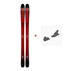 Ski K2 Pinnacle 85 2018 + Fixation de ski